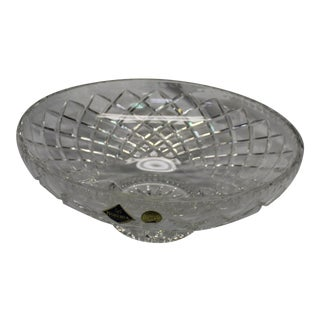 1990s 24% Lead Crystal Bowl For Sale