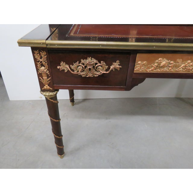 Empire French Empire Style Desk For Sale - Image 3 of 12
