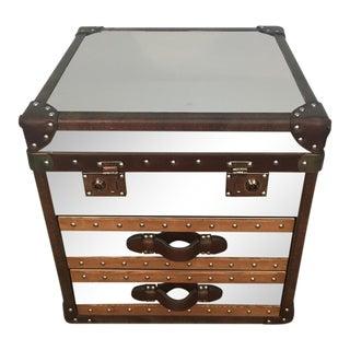 Livingstone Steamer Trunk Side Table