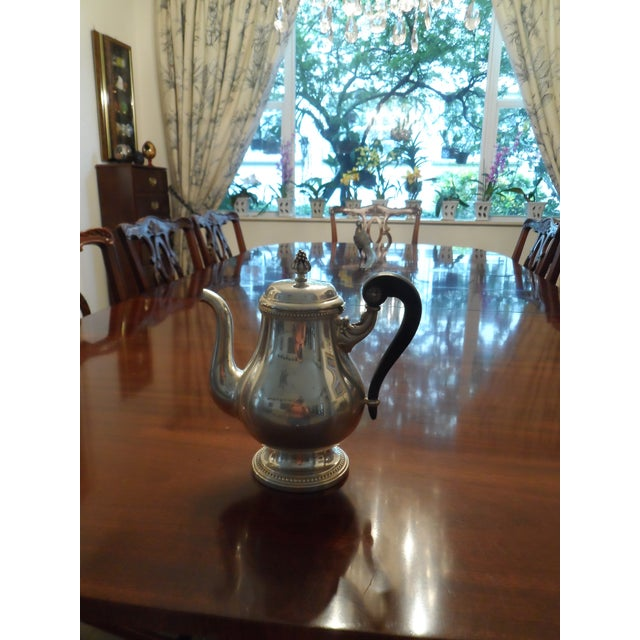1990s 1990s Christofle Silver Plated Tea Set - 6 Pieces For Sale - Image 5 of 9