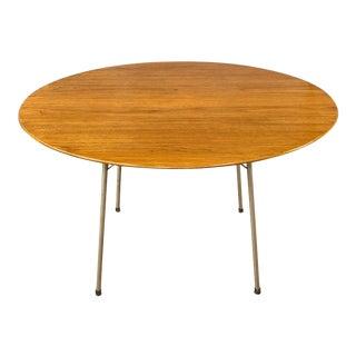Vintage Arne Jacobsen for Fritz Hansen Model 3600 Teak Dining Table For Sale