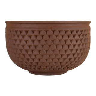Earthgender Diamond Pointer Bowl Planter by David Cressey & Robert Maxwell For Sale
