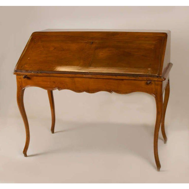 Circa 1825 French Slant Front Writing Desk For Sale In San Francisco - Image 6 of 7