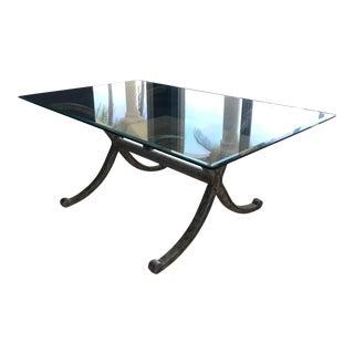 Modern Design Master Furniture Celina Dining Table For Sale