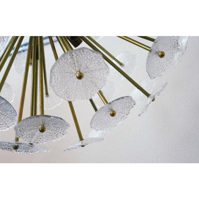 Italian Primavera Sputnik Chandelier by Fabio Ltd For Sale - Image 3 of 7