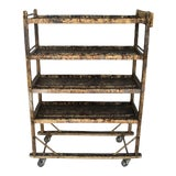 Image of 19th Century Antique Factory Cart For Sale