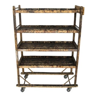 19th Century Antique Factory Cart For Sale