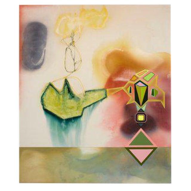 El Dorado, 2014 Mixed Media on Canvas by David Lloyd For Sale