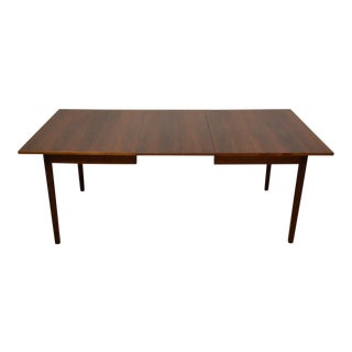 Walnut Dining Table & Leaf