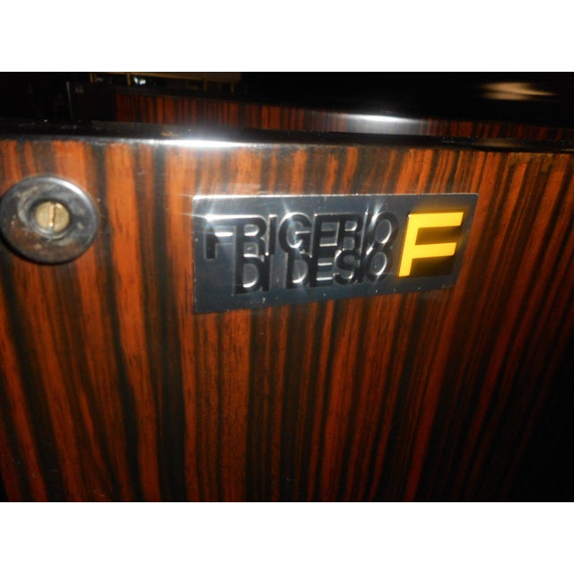 Brass Impressive Midcentury Chic Sideboard by Frigerio For Sale - Image 7 of 9