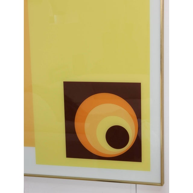 1970s Modern Op Wall Art by Turner For Sale In New York - Image 6 of 11