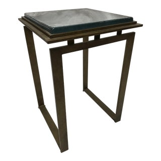 Charleston Forge Tribeca Iron Drink Table For Sale