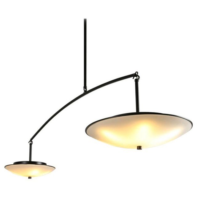 Contemporary Christopher Objects Draftsman No.3 Cantilever Pendant Light by Topher Gent For Sale - Image 13 of 13