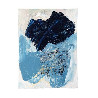 "Dani Schafer ""Blue Mire"" Original 2015 Painting"