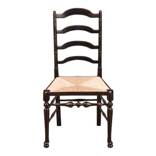 Sarreid Ltd. Ebonized Walnut Finish Dining / Side Chair For Sale