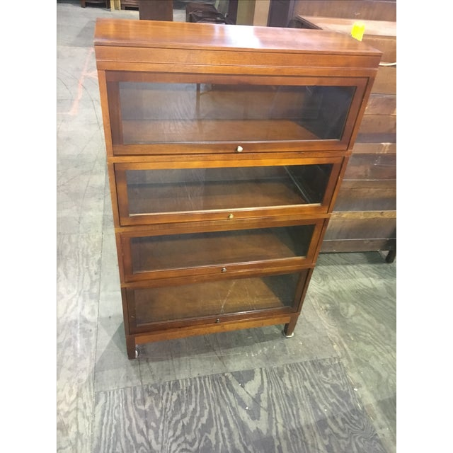 Antique Globe Wernicke Lawyer's Barrister Bookcase - Image 2 of 10
