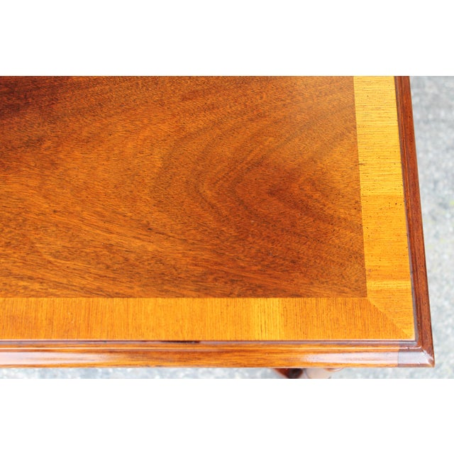 1970's Traditional Carved Wood Side Tables - A Pair - Image 11 of 11