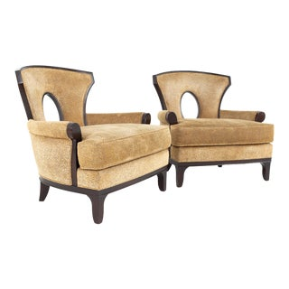 Barbara Barry for Henredon Modern Lounge Chair - a Pair For Sale