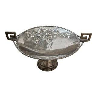 Silverplate Cake Stand For Sale