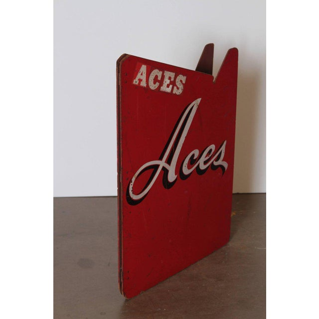 Red Art Deco Painted Wood Bandstand Rhythm Aces from 1930s-1940s For Sale - Image 8 of 11