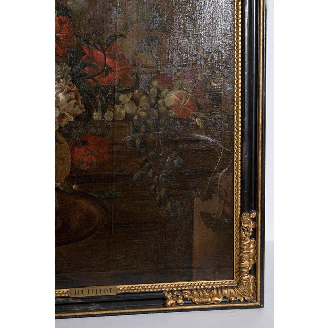 Early 20th Century Oil on Canvas in Manner of Pierre Nicolas Huilliot For Sale - Image 9 of 13
