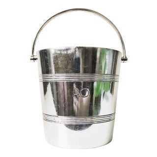 Silver Plated Ice Bucket From a P&o Oceanliner For Sale