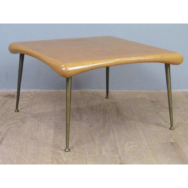 Robsjohn-Gibbings for Widdicomb Coffee Table For Sale In New York - Image 6 of 6