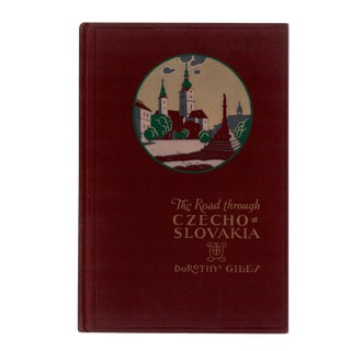 """1930 """"The Road Through Czechoslovakia"""" Collectible Book For Sale"""