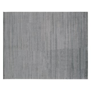 Stark Studio Rugs Contemporary Cerra Forest 50% Wool/50% Viscose Rug - 9′9″ × 13′7″ For Sale