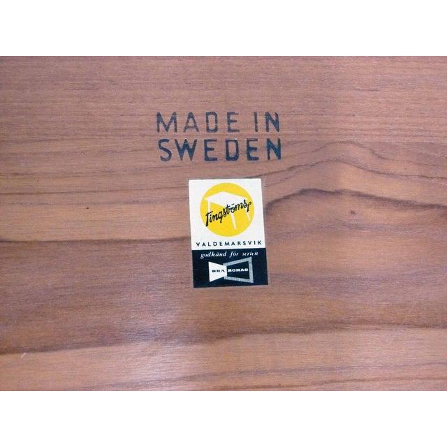 Brown Tingstroms of Sweden Teak Side Tables - A Pair For Sale - Image 8 of 8