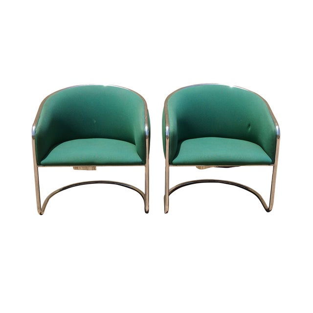 Thonet Lounge Club Chairs - A Pair For Sale