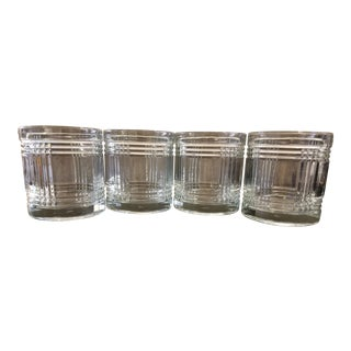 Anchor Hocking Tumblers Aberdeen Pattern. Set of 4. For Sale