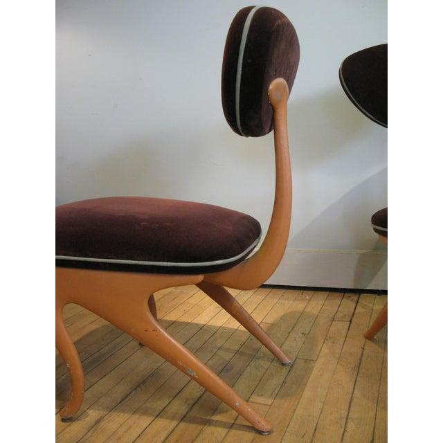 Jordan Mozer Pair of Lounge Chairs by Jordan Mozer For Sale - Image 4 of 8