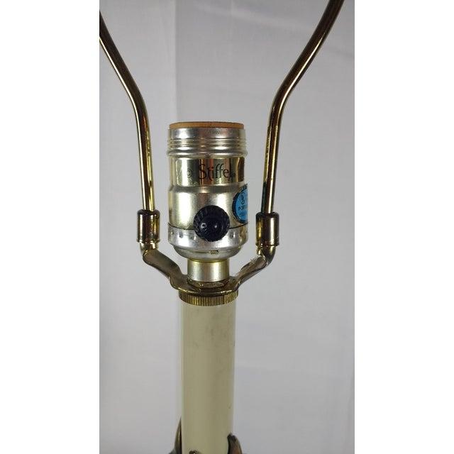"Stiffel Agean Bronze ""Justice"" Table Lamp - Image 4 of 10"