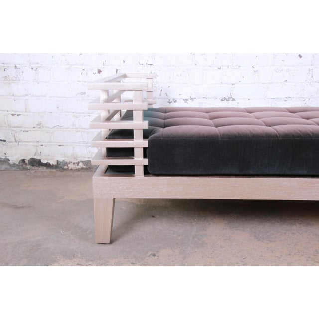 """Adriana Hoyos Modern """"Chocolate"""" Day Bed For Sale - Image 9 of 13"""