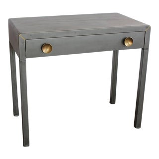1920s Vintage Simmons Industrial Metal Desk For Sale
