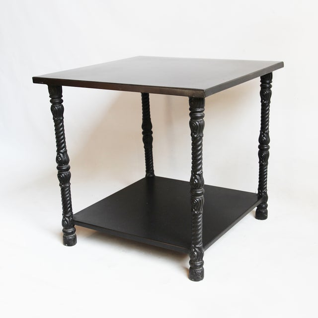 Blackened Iron Side Table - Image 2 of 4