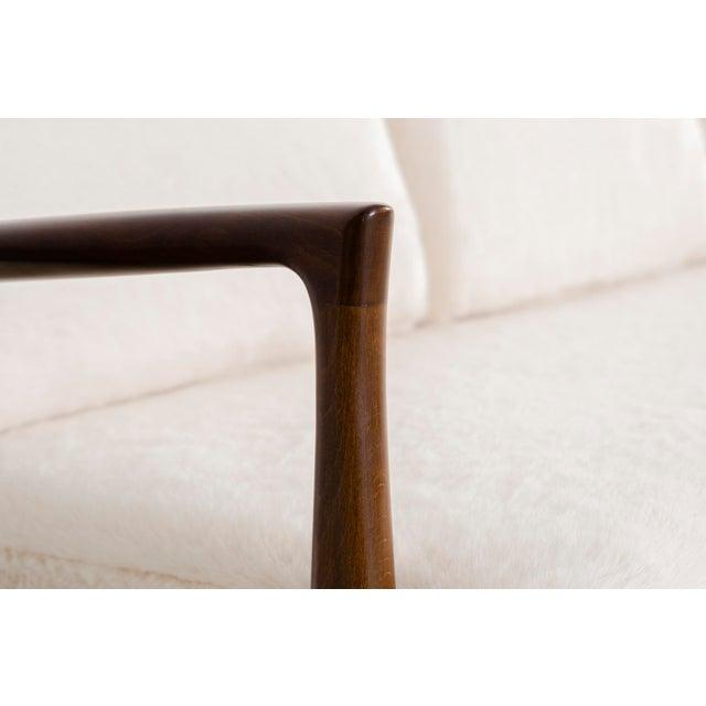 Ib Kofod-Larsen for Selig Teak Wood Sofa For Sale In Chicago - Image 6 of 13