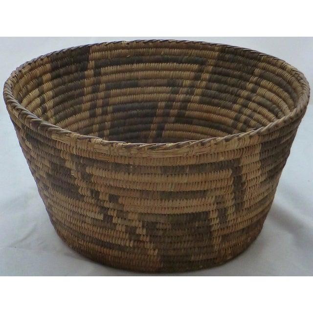 Antique Apache Basket Circa 1890-1920 - Image 6 of 11