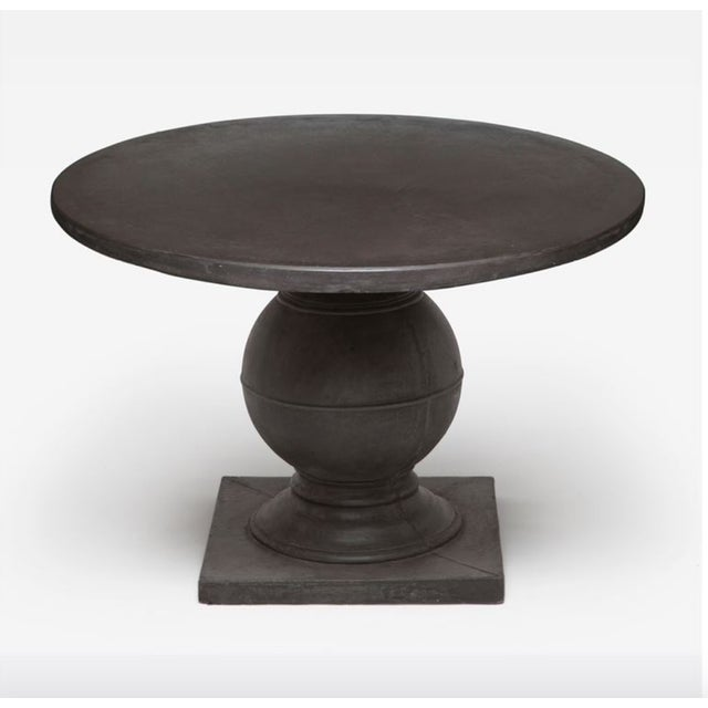 Less than a year old and in excellent condition! The traditional base and simple shape of the Made Goods Cyril table makes...
