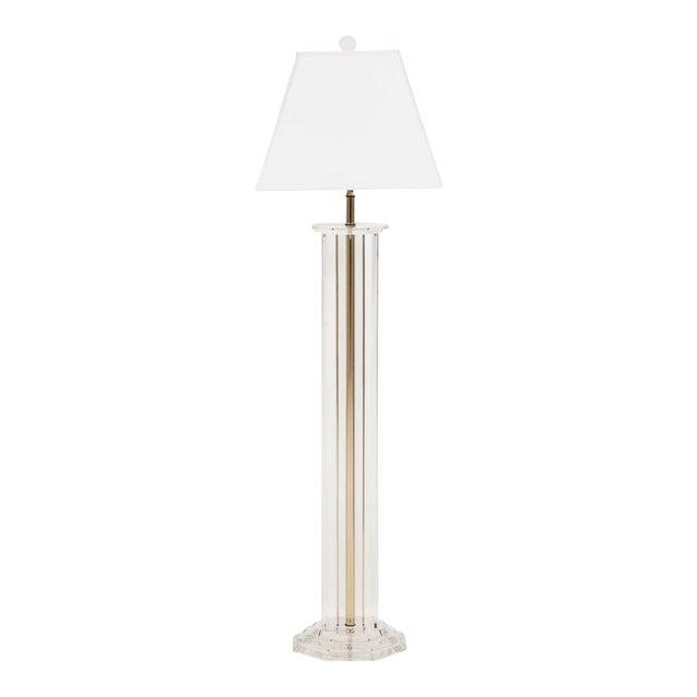 Lucite Floor Lamp For Sale