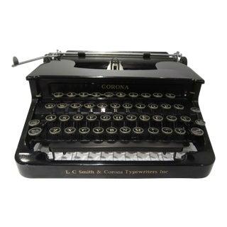 1930s Smith Corona Typewriter For Sale