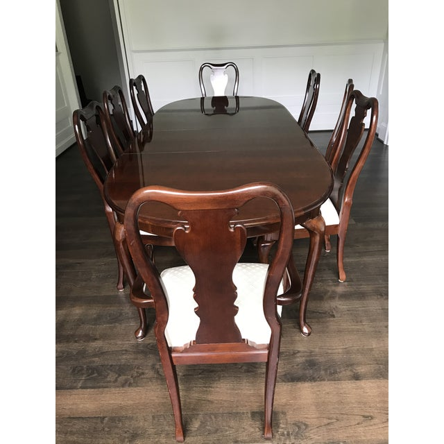 Thomasville Collector's Cherry Dining Set | Chairish