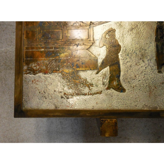 Stunning Tao Coffee Table by Philip and Kelvin LaVerne - Image 6 of 11