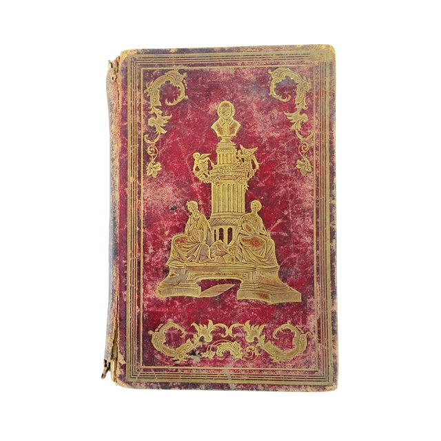 Image of Antique Leather Bound Shakspeare Book