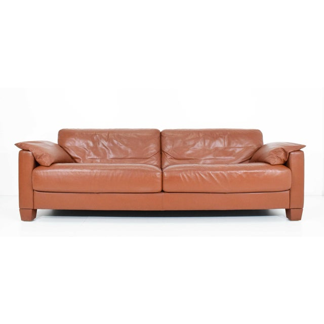 1990s Vintage De Sede Leather Sofa For Sale - Image 10 of 11