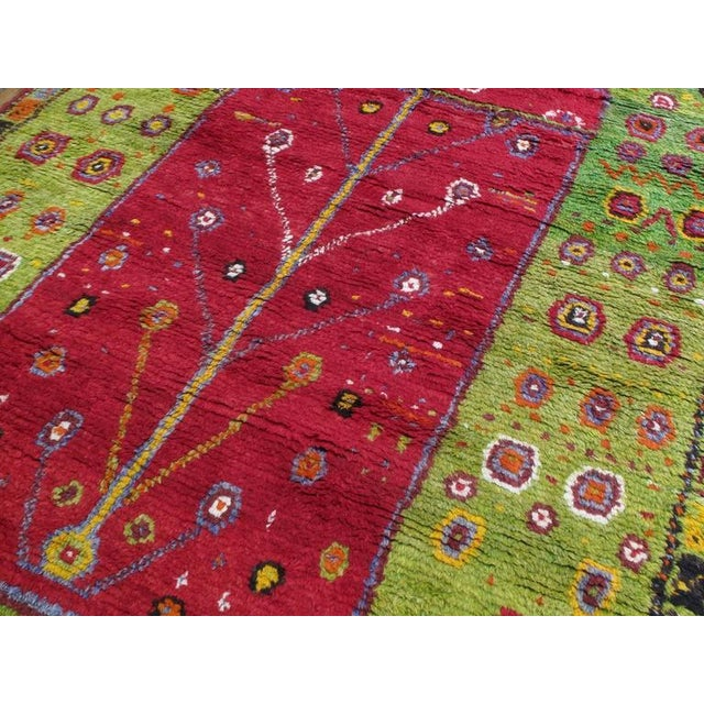 """Festive """"Tree-of-Life"""" Rug For Sale - Image 4 of 9"""