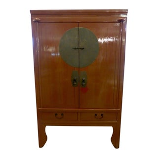 Mid-Century Asian Cabinet For Sale