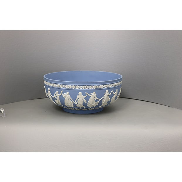 """Early 20th Century Wedgwood Jasperware """"Dancing Hours"""" Bowl For Sale - Image 5 of 5"""