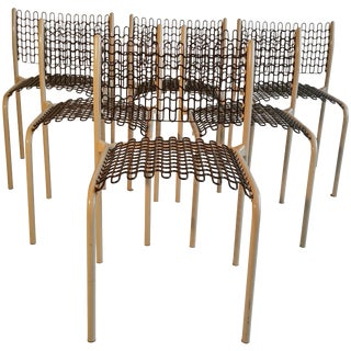 Honet Sof-Tek Stacking Chairs by David Roland - Set of 6 For Sale